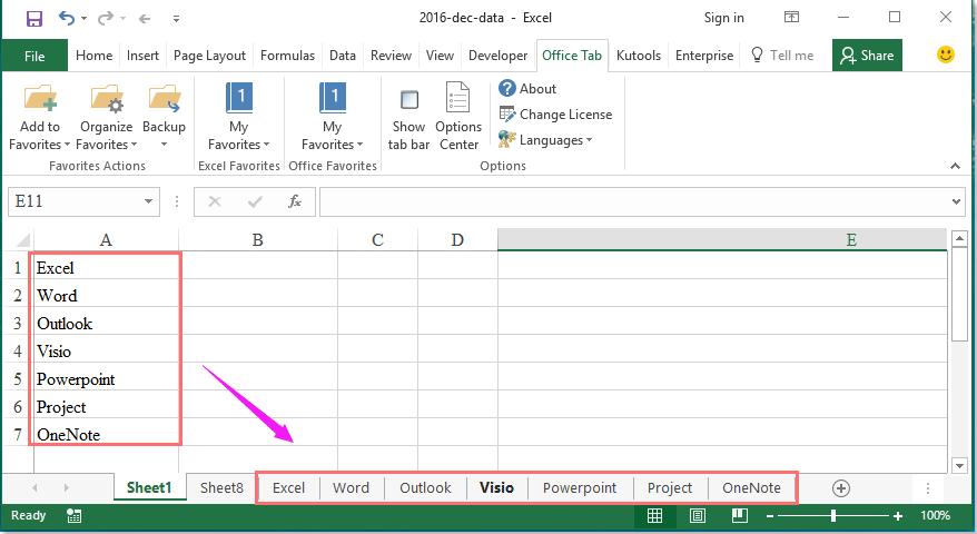 doc create multiple sheets 1