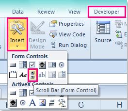 文档创建可滚动列表,2