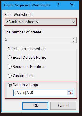 doc create sheet names by list 4