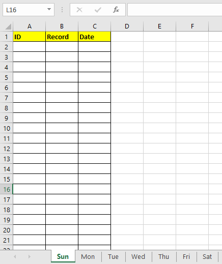 How to quickly create daily/weekly/monthly reports with same