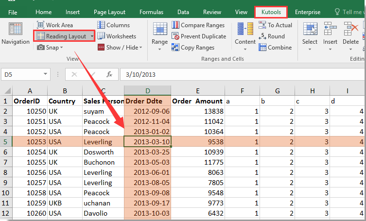 How to change border color of active cell in Excel?