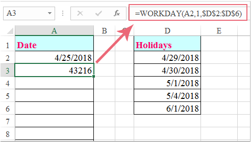 doc fill date without holidays 1