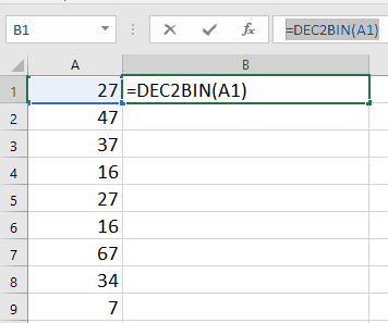 doc decimal to binary 1