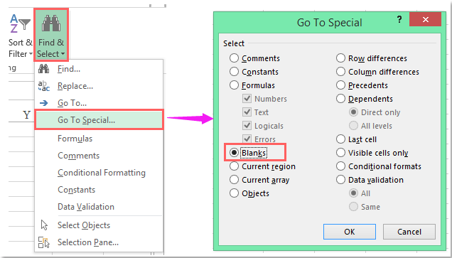 How To Delete Multiple Empty Columns Quickly In Excel