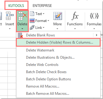 doc delete blank columns with header 3