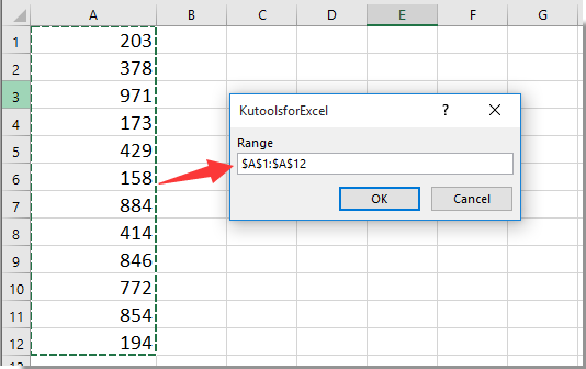 How to divide a range of cells by a number in Excel?