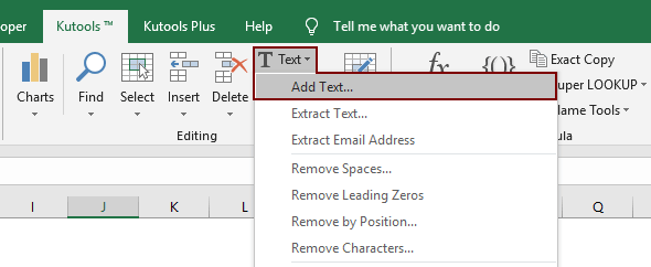 how to add comma at end of cell  text in excel