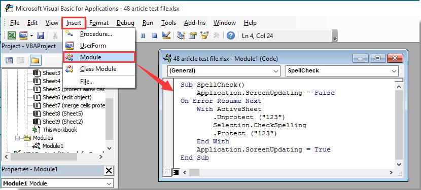 vba protect sheet allow edit objects
