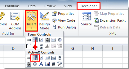 How to autocomplete when typing in Excel drop down list?