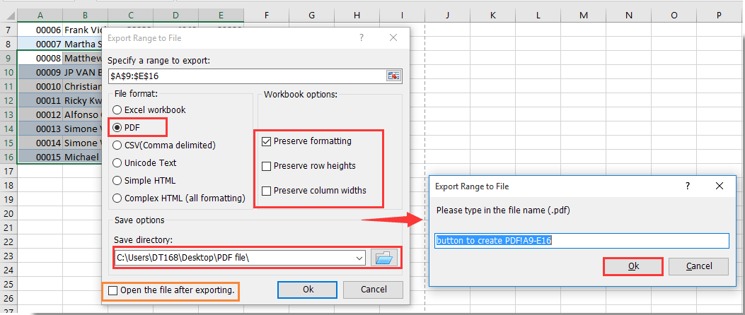 How to use Command Button to save active worksheet as PDF