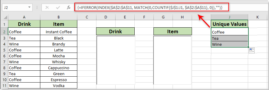 How to create dynamic cascading list boxes in Excel?