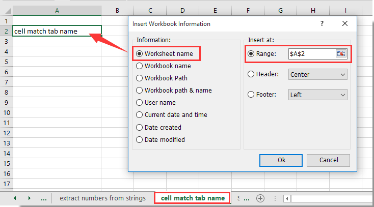How to match the cell value with sheet tab name or vice ...