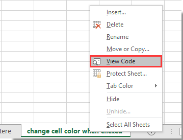 How to change cell color when cell is clicked or selected in ...