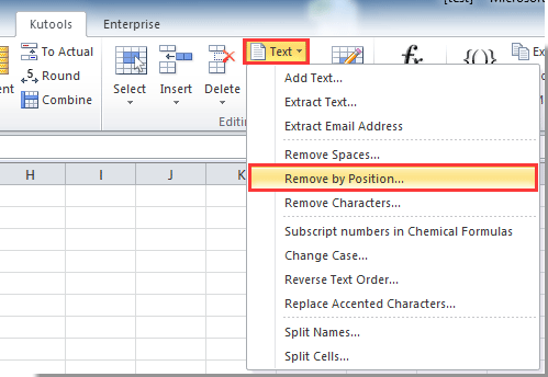 How to change or find and replace first number in cell in Excel?