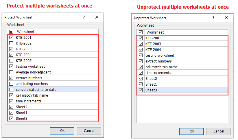 How to check if worksheet or workbook is protected in Excel?