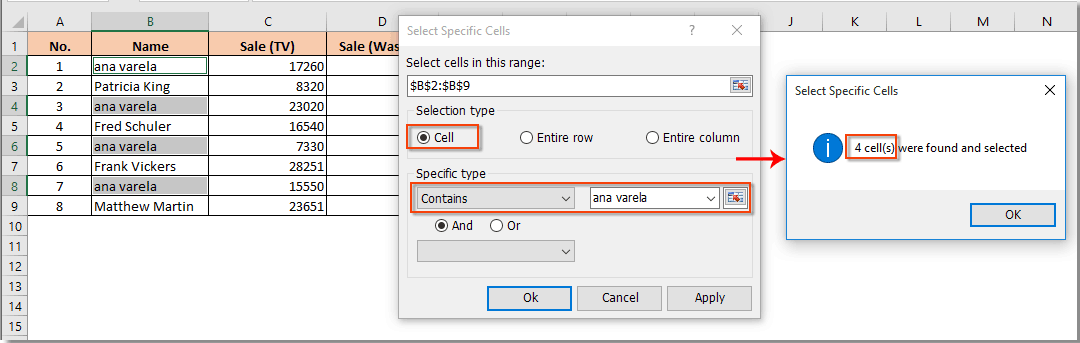 How to count number of cells with text or number in Excel?