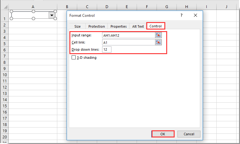 How to create a dynamic monthly calendar in Excel?