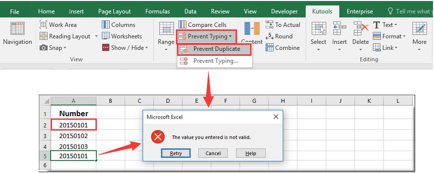 How to prevent copy and paste over cell with drop down list