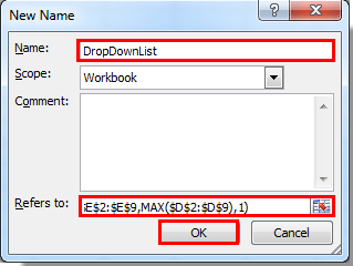 How to create a searchable drop down list in Excel?