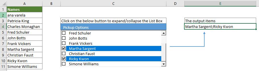 Bagaimana Cara Membuat Daftar Drop Down Dengan Beberapa Kotak Centang Di Excel