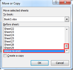How to move active sheet to end or front of current workbook in Excel?