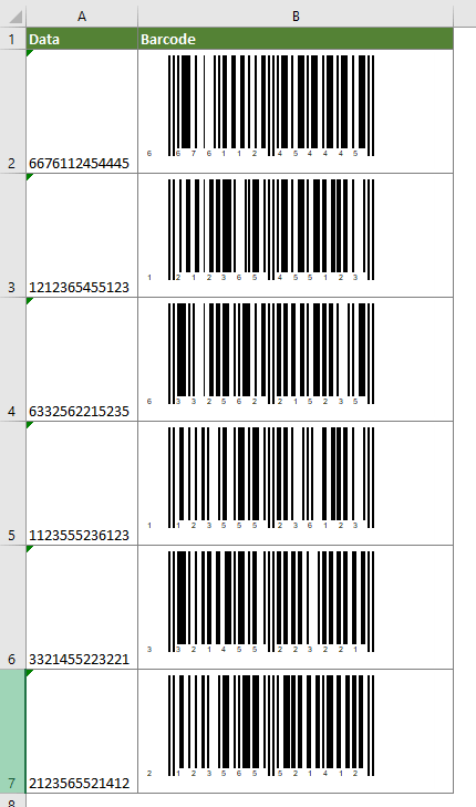 Tres Métodos Para Insertar Códigos De Barras En Celdas Según Cierto Valor En Excel