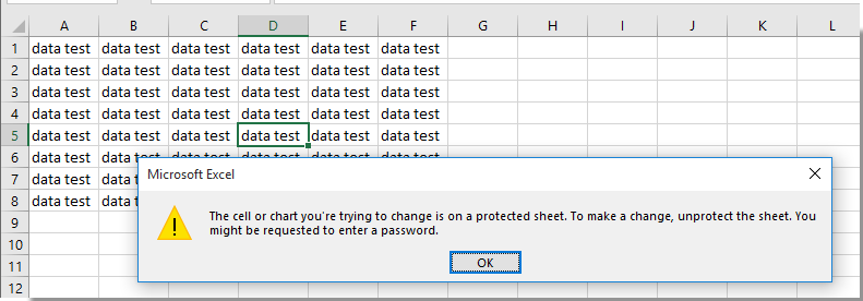 excel lock cells based on condition