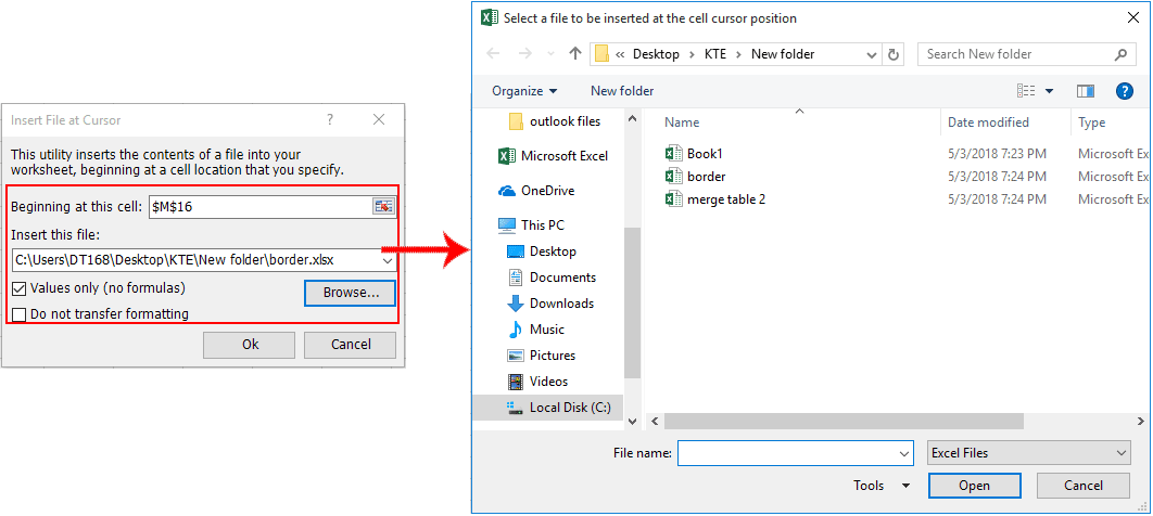 How to loop through files in a directory and copy data into
