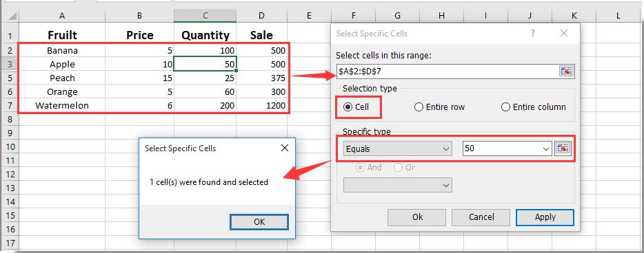 "How to pop up message box if cell value equals ""X"" in Excel?"