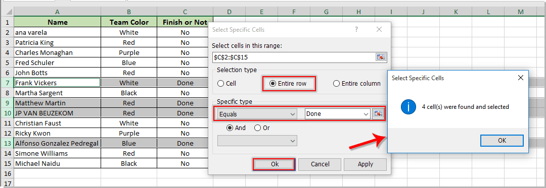 How To Move Entire Row To Another Sheet Based On Cell Value In Excel