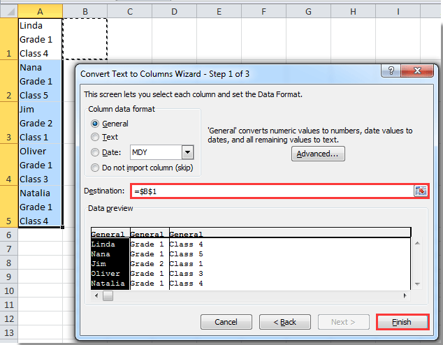 How to split multiline cell contents into separated rows