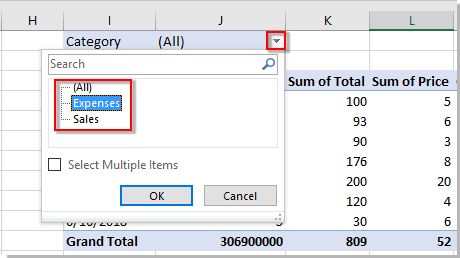 How to filter Pivot table based on a specific cell value in