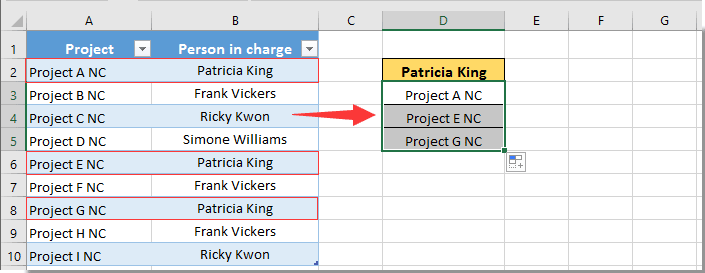 How to populate rows based on specified cell value in Excel?