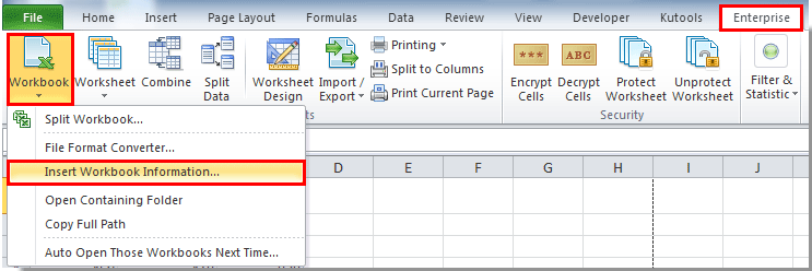 How to print sheet name or a list of sheet names in Excel?