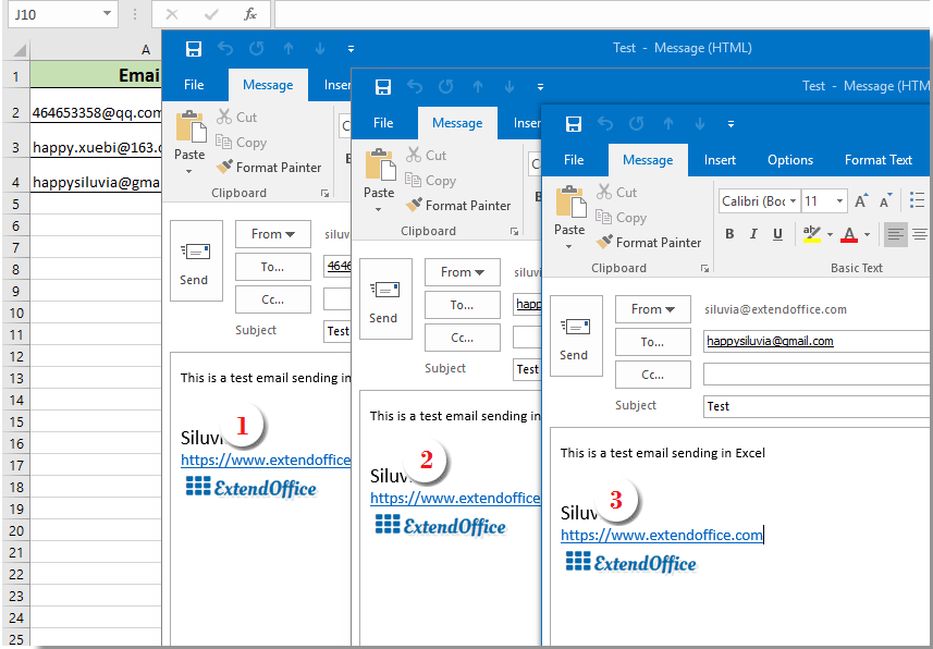 How to insert signature into Outlook email when sending by