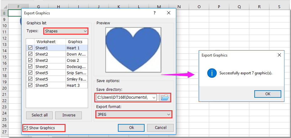 How to auto change shape size based/dependent on specified