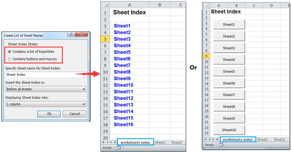How to populate a Userform ComboBox with all sheet names in Excel?