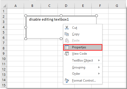 How to disable editing in textbox to prevent user inputting