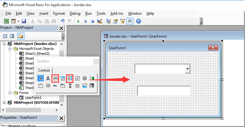 How To Populate Textbox Based On Combobox Selection On Userform In Excel