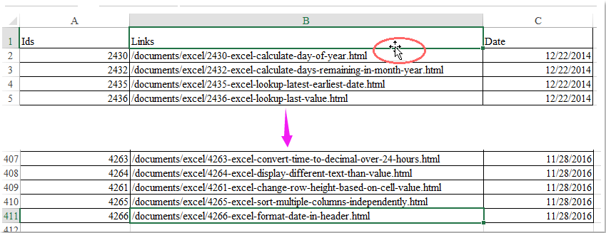 How to disable double-click on cell border in Excel?