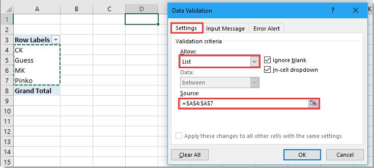 lista desplegable de doc sin 5 duplicado