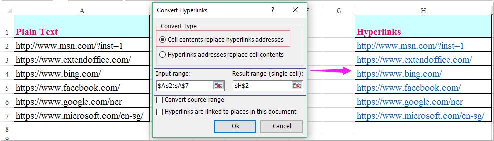 doc drop down list hyperlinks 8