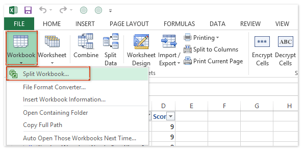 doc each sheet to csv 2