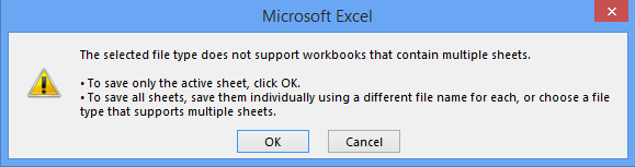 How to save or export each sheet as CSV/PDF file in Excel?