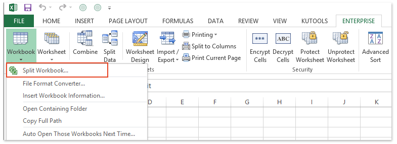 Excel addin: export each sheet as a separate CSV