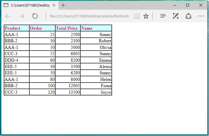 doc将数据导出到html 8