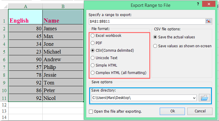 doc export range to csv 4 4
