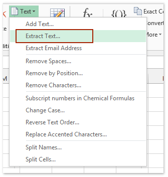 How to extract text between commas/brackets/parentheses in Excel?