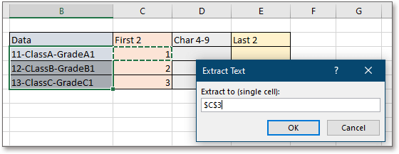 doc extract substring 5