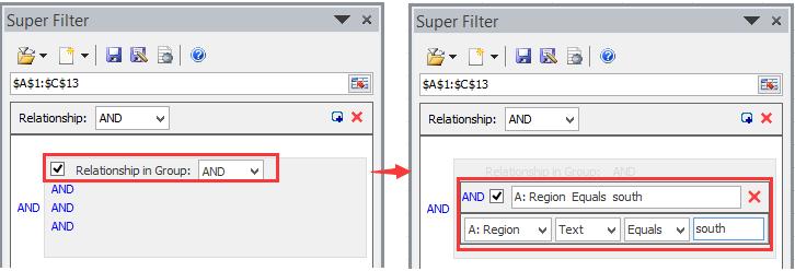 doc kte filter por criterios comodín 5